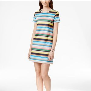 CeCe by Cynthia Steffe Striped Shift Dress